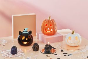 Halloween candles holders