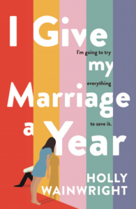 I Give my Marriage a Year book
